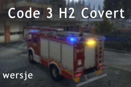 Code 3 H2 Covert siren