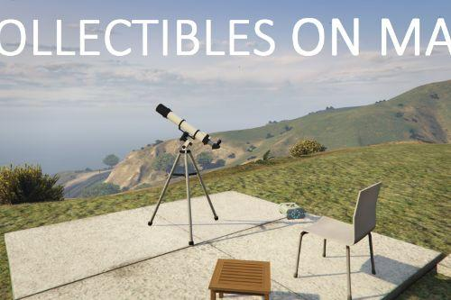 Collectibles on Map