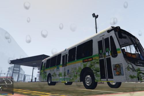 Colombian Public Bus Neobus MetroPlus Medellin