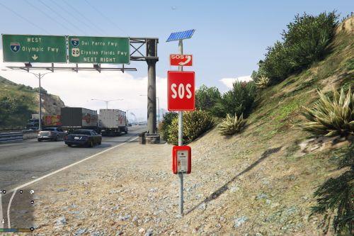 Colonnina SOS Autostrada
