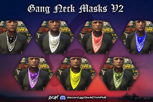 Colored Gang Neck Masks for MP Male