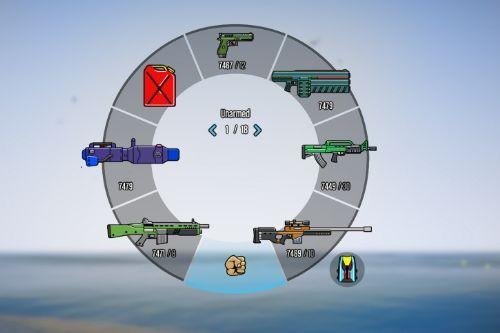 Colorful HUD 2020 (Only Weapons Icons) v1.0