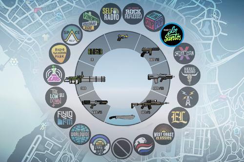 Colorful Icons (Radio + Weapons) - GTA5-Mods com