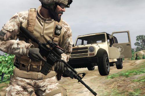 Colt M4A1 (& M203)
