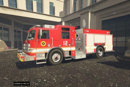 Columbus, Ohio Fire Department Textures