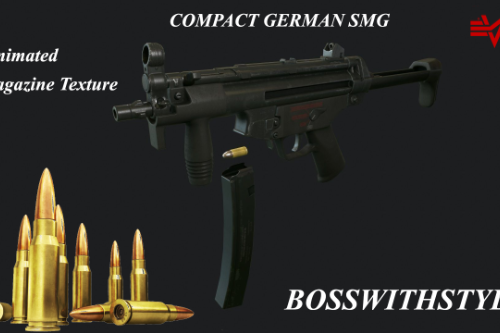 Compact German SMG [Animated]