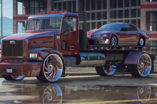 Cooler Flat Bed Tow Truck [Replace / FiveM]