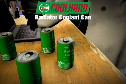 Coolhand Radiator Coolant Can