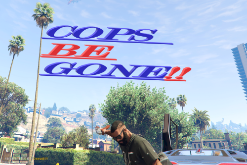 COPS BE GONE