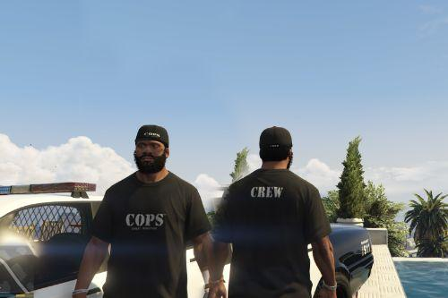 COPS TV Show apparels texture