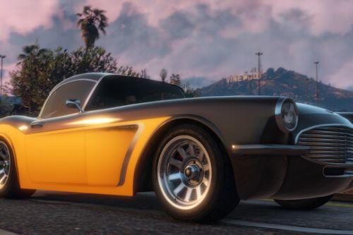 HD Badge for Coquette BlackFin (Classic Corvette) (Ill Gotten Gains 2)