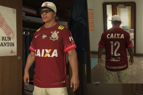 Corinthians Goalkeeper (Cássio) Jersey 2015/16 for Franklin