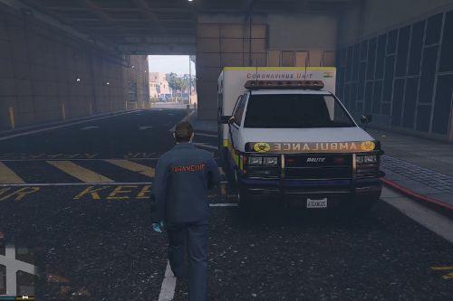 Corona Virus Ambulance