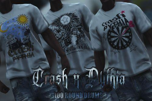 Crash x Pythia T-Shirt Pack for MP Male