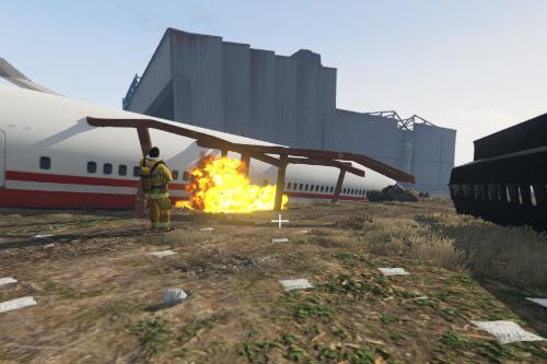 Crash planes in LS Airport [Map Editor + Menyoo]