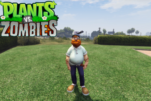 Crazy Dave (Plants vs Zombies) [Add-on Ped]