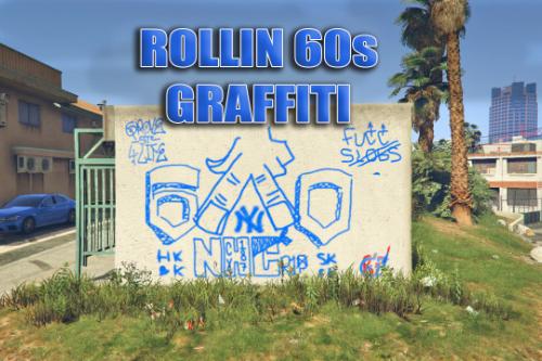 Crip Gang Graffiti (R60s)