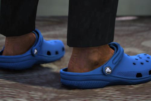 Crocs Clogs for MP Male & MP Female (FiveM & SP - unlocked)