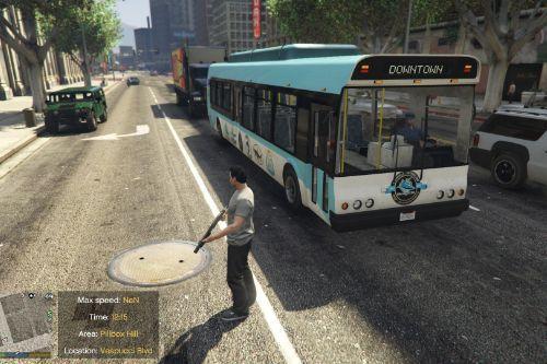 Cronulla Sharks City Bus