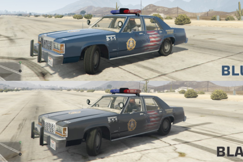Crown Victoria 1987 LTD LS Sheriff USA