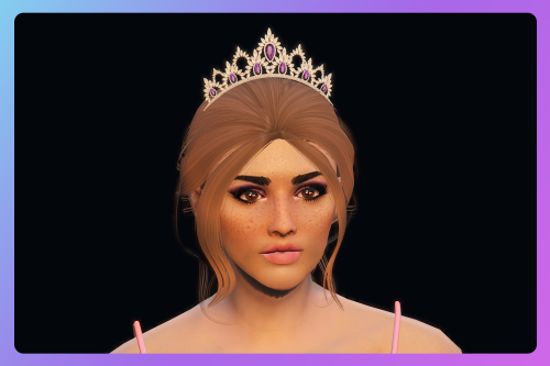 Crown with jewels for MP Female