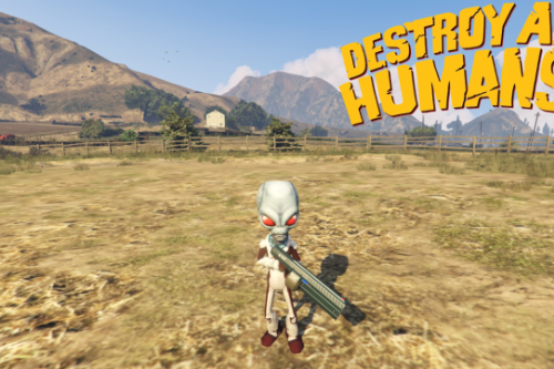 Crypto from Destroy all Humans [Add-on Ped]