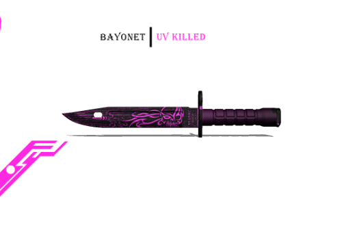 C90d0e bayonet uv killed
