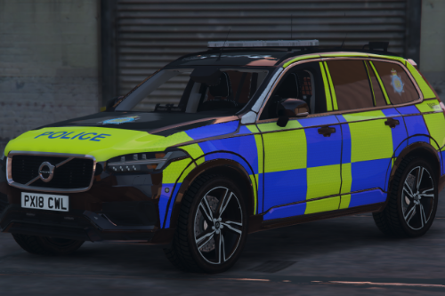 Cumbria Constabulary Volvo XC90 Armed Response Vehicle (SKIN)