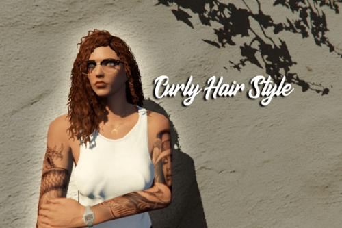 Curly Hair For MP Female ( V.1 & V.2)