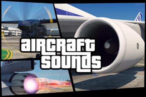 Custom Aircraft Engine Sounds [OIV Add-On + Replace / FiveM | Sounds]