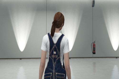 Custom Denim Overalls (Dungarees) for MP Female
