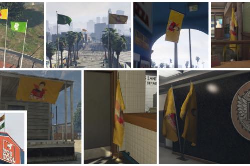 Custom Flags (DLC w/ Source Files)