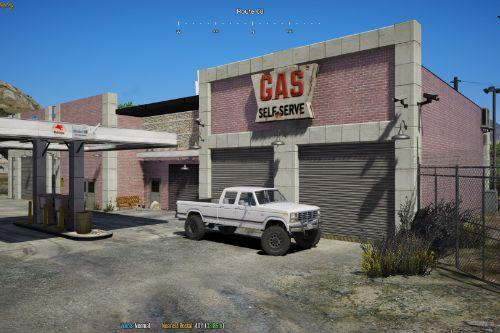 Custom Gas Station Shop (Route 68) [YMAP]