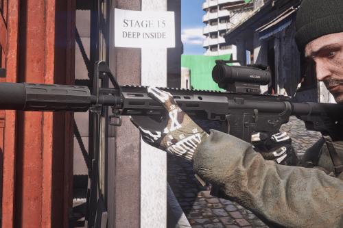 Custom M4A1 [Animated]