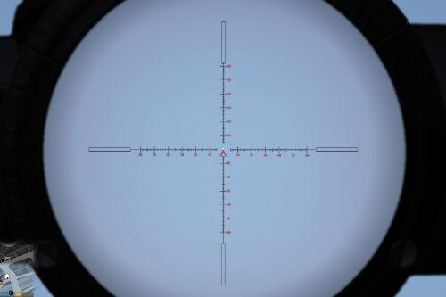 Custom Sniper Rifle Crosshair
