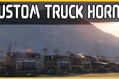 Custom Truck Horns