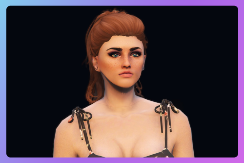 Cute ponytail hairstyle for MP Female