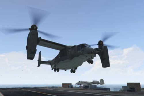 CV-22B Osprey [Add-On / Replace | Enterable interior]