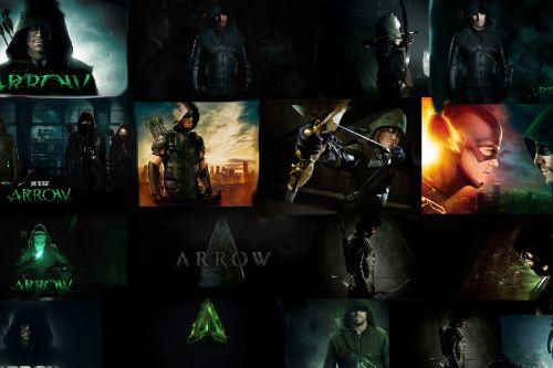 CW Arrow Intro and loading screens [Spanish & English]
