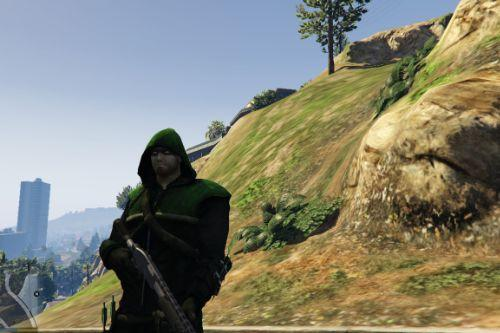 CW Green Arrow [Add-On Ped]