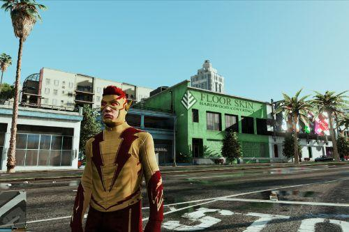 CW Kid Flash retexture New 52 Comics