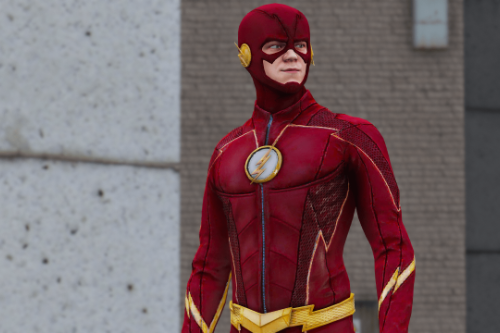 CW The Flash Season 4 Suit