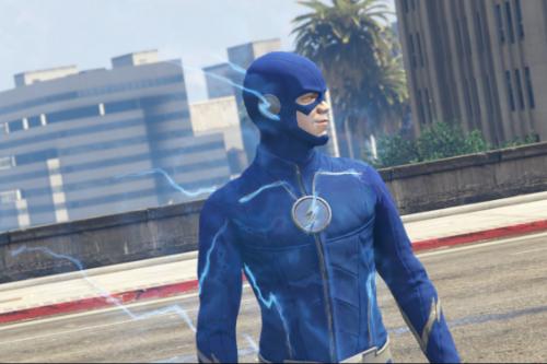 CW The Future Flash Season 4 Blue Flash Retexture