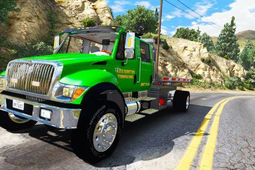 CXT flatbed tow truck [Add-On / Replace | FiveM | ELS / non-ELS]