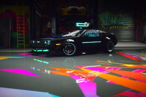 Cyberpunk Delorean DMC-12 [Add-On / FiveM]
