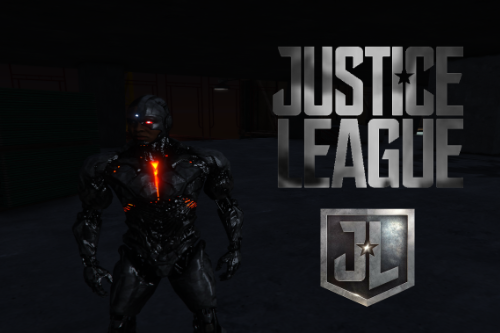 Cyborg Justice League [Add-On Ped]