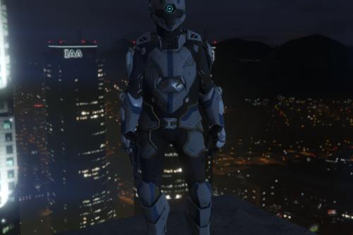 Cyborg suit