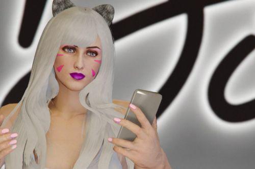 D.va Face Makeup For MP Female