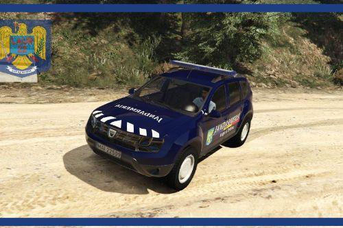 Dacia Duster Jandarmeria Romana (new design)