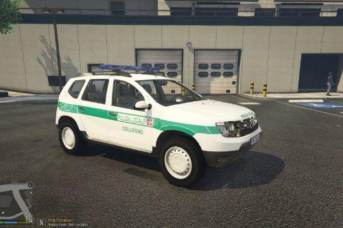 Dacia Duster Polizia Locale Collegno Paintjob